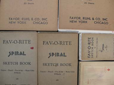 Favourite Sketch Books