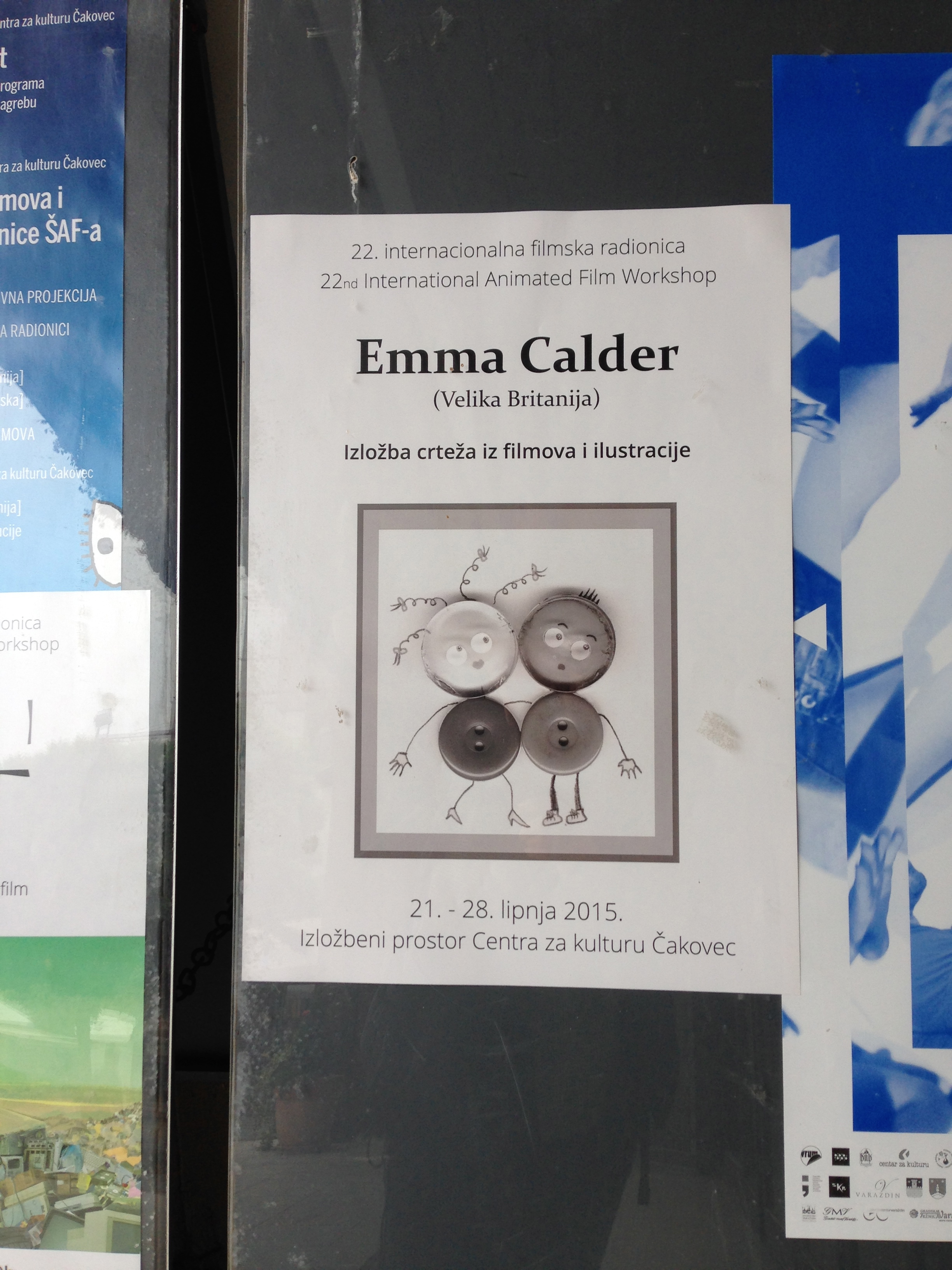 Emma Calder Exhibition Poster