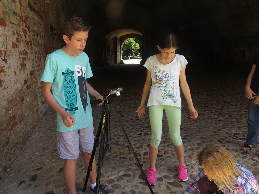 SAF teens filming